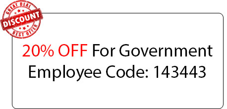 Government Employee Coupon - Locksmith at Duarte, CA - Duarte Locksmith